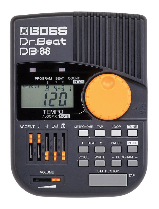 creating non isochronous rhythm patterns using the boss dr beat db 88 metronome. Black Bedroom Furniture Sets. Home Design Ideas